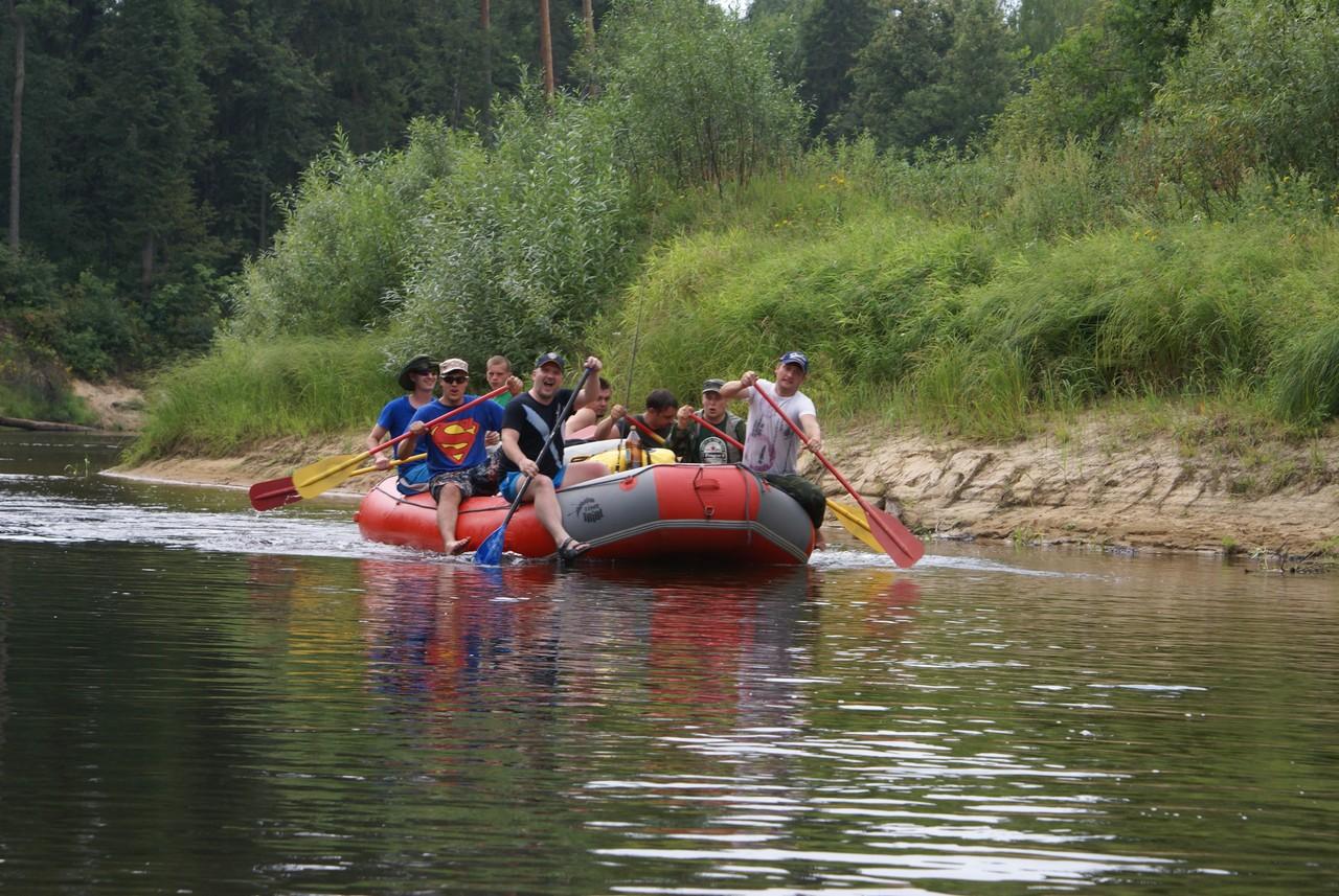 Сплав на рафте по реке Керженец