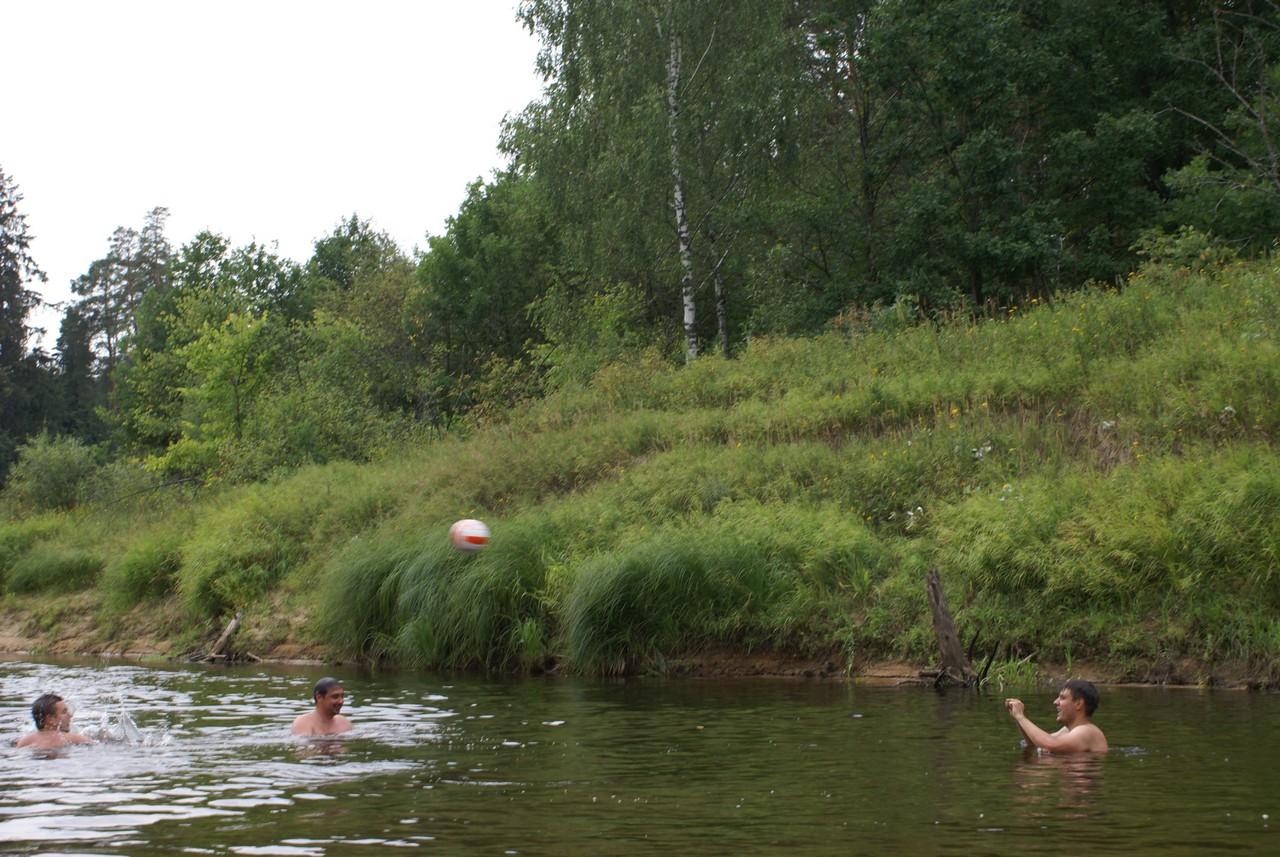 Водное поло на реке