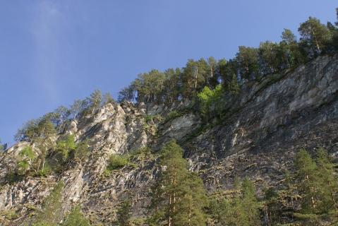 Скалы на Агидель