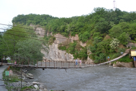 Река в горах