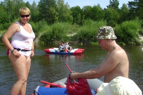 Сплав по реке Лух