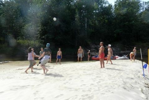 Волейбол на Лухе