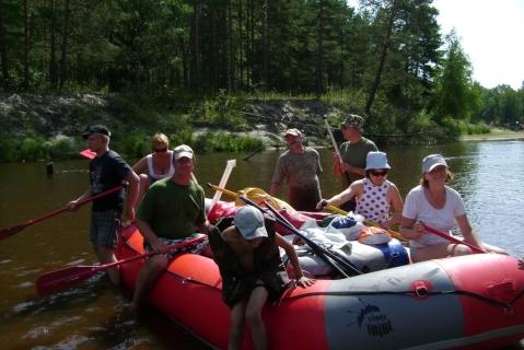 Активный отдых на реке Лух