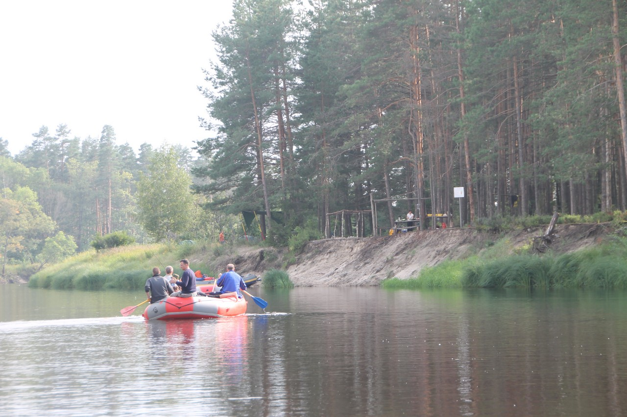 Рафтинг на реке