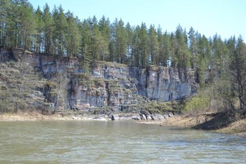 Красивые скалы на Нугуше