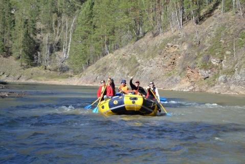 Наш поход по реке Нугуш