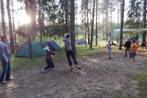 Лагерь на Керженце