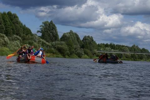 Поход на реке