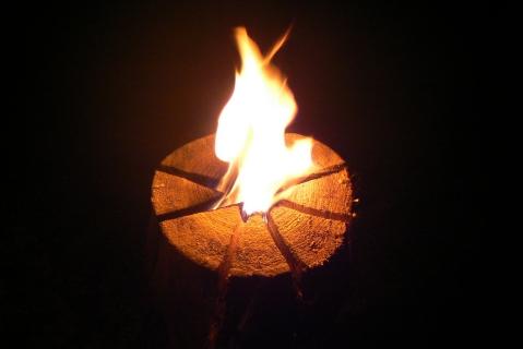 Финская свеча в походе